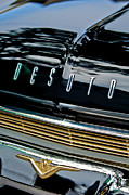 Shows Posters - 1959 Desoto Adventurer Hood Emblem Poster by Jill Reger