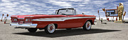 1959 Edsel Corsair Convertible Prints - 1959 Edsel Corsair Print by Mike McGlothlen