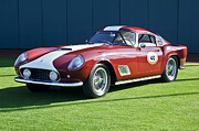 Tour De France Art - 1959 Ferrari 250 GT LWB Berlinetta TdF by Jill Reger