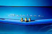 Fairlane Photos - 1959 Ford Fairlane 500 Emblem by Jill Reger