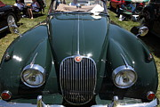 Racecar Photos - 1959 Jaguar XK150 DHC 5D23302 by Wingsdomain Art and Photography