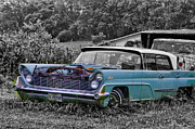 Vintage Auto Digital Art - 1959 Lincoln Continental by Bill Cannon