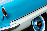 Car Photography Posters - 1959 Nash Metropolitan Wheel - Taillight Poster by Jill Reger