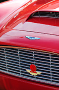1960 Photos - 1960 Aston Martin DB4 Grille Emblem by Jill Reger