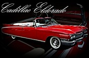 Dorado Photo Posters - 1960 Cadillac Convertible El Dorado  Poster by Tim McCullough