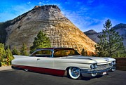 1960 Photos - 1960 Cadillac Coupe DeVille by Tim McCullough