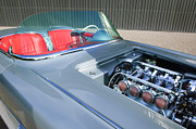 1960 Photos - 1960 Chevrolet Corvette Custom Engine by Jill Reger