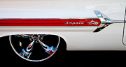 Chevrolets Framed Prints - 1960 Chevrolet Impala Framed Print by David Patterson