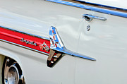 1960 Photos - 1960 Chevrolet Impala Emblem by Jill Reger