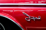 1960 Photos - 1960 Chrysler Imperial Emblem by Jill Reger