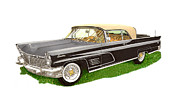 1960 Originals - 1960 Continental Convertible by Jack Pumphrey
