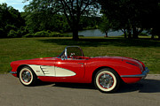 1960 Photos - 1960 Corvette by Tim McCullough
