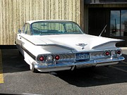 1960 Photo Originals - 1960 Impala by Steven Parker