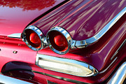 Tail Lights Photos - 1960 Jet Engine Styling by David Lee Thompson
