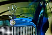 1960 Mercedes-benz 220 Se Convertible Hood Ornament Print by Jill Reger