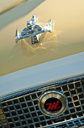 Hood Ornaments Framed Prints - 1960 Nash Metropolitan 3 Framed Print by Jill Reger