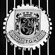 1960 Photos - 1960 Volkswagen VW Porsche 356 Carrera GS GT Replica Stuttgart Emblem by Jill Reger