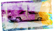 American Grunge Framed Prints - 1960s Buick Framed Print by David Ridley