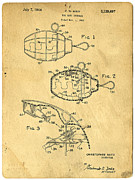 Patent Photos - 1960s Toy Hand Grenade by Edward Fielding