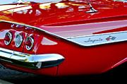 Tail Photos - 1961 Chevrolet Impala Taillight Emblem by Jill Reger
