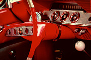 Red Impala Prints - 1961 Chevy Impala SS Nomad Print by David Patterson