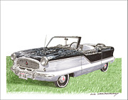 The Rambler Prints - 1961 Nash Metropolitian Print by Jack Pumphrey