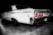Cheryl Young - 1962 Chevrolet Impala SS BW