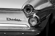 1962 Photos - 1962 Dodge Dart Taillight Emblem by Jill Reger