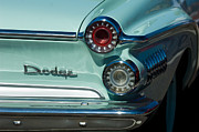 Classic Car Photography Posters - 1962 Dodge Dart Taillight Poster by Jill Reger