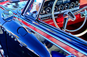 500 Photos - 1962 Dodge Polara 500 Side Emblem - Steering Wheel by Jill Reger
