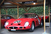 Ferrari Gto Classic Car Photos - 1962 Ferrari 250 GTO  by Robert Phelan