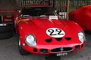 Racing Number Photos - 1962 Ferrari GTO by Robert Phelan