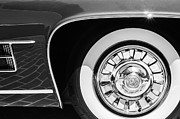 1962 Photos - 1962 Ghia L6.5 Coupe Wheel Emblem by Jill Reger