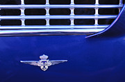 1962 Photos - 1962 Maserati 3500 GT Emblem by Jill Reger