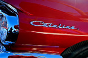 Catalina Prints - 1962 Pontiac Catalina SD Side Emblem Print by Jill Reger