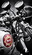 Racer Photos - 1963 BSA Rocket Goldstar by Tim Gainey