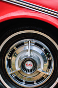 1963 Photos - 1963 Chevrolet SS Convertible Wheel Emblem by Jill Reger