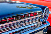 1963 Posters - 1963 Ford Galaxie 500XL Taillight Emblem Poster by Jill Reger