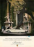 Old Auto Posters - 1963 Ford Thunderbird Poster by Nomad Art And  Design