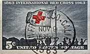 Bill Owen - 1963 Red Cross Stamp -...