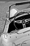 Steering Prints - 1964 AC Shelby Cobra 289 Print by Jill Reger