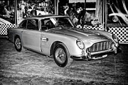 James Bond Prints Photos - 1964 Aston Martin DB5 by Boris Mordukhayev