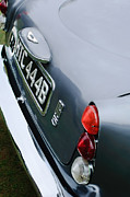 Tail Photos - 1964 Aston Martin DB5 Coupe Taillight by Jill Reger
