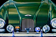 Morgan Acrylic Prints - 1964 Morgan Plus 4 Coupe Acrylic Print by Jill Reger