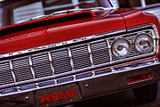 1969 Dodge Charger Stock Car Metal Prints - 1964 Plymouth Savoy Metal Print by Gordon Dean II