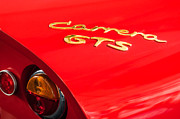 Featured Art - 1964 Porsche Carrera GTS Taillight Emblem by Jill Reger