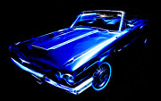 Phil Motography Clark Metal Prints - 1964 Thunderbird Metal Print by Phil 