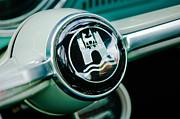 1964 Volkswagen Vw Steering Wheel Print by Jill Reger