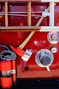 Fire Truck Photos - 1965 American LaFrance Fire Truck  by Jill Reger