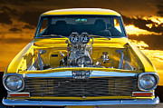 Alloy Framed Prints - 1965 Chevrolet Nova Framed Print by Dave Koontz